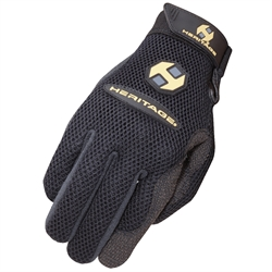 Air-Flow Roping Glove - Right Hand Only - BLACK