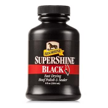 Absorbine Supershine Hoof Polish BLACK 236ml