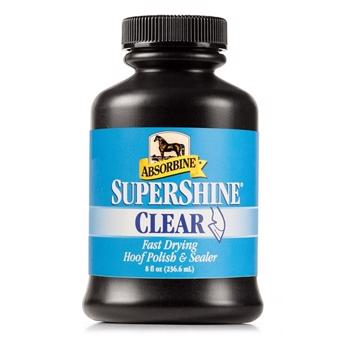 Absorbine Supershine Hoof Polish CLEAR 236ml