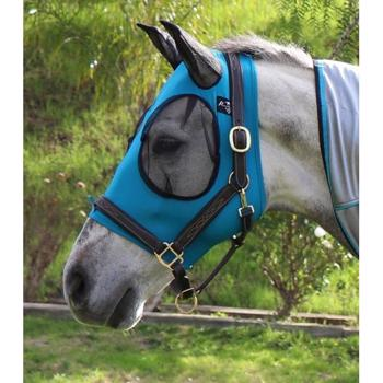 Comfort Fit Fly Mask - Pacific Blue