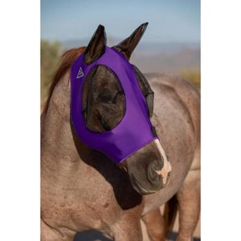 Comfort Fit Fly Mask - Purple