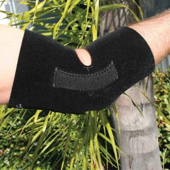 Full Elbow Support - Black