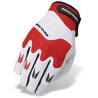 POLO PRO GLOVES - White/Red