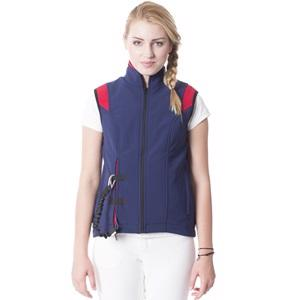 Helite Airshell Softshell VEST + Airbag BLUE/RED